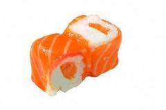 202, 6 saumon rolls au saumon