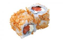 708, 6 maki croquant saumon fromage