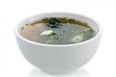 E1, soupe miso