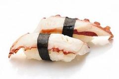 806, 2 sushi de poulpe