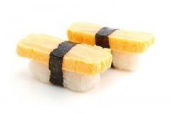"""807, 2 sushi """"omelette"""""""