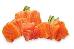 SA1, 10 sashimi de saumon