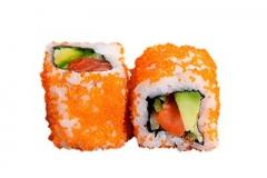 301, 6 masago saumon avocat