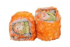 305, 6 masago tempura-crevette